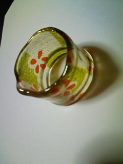 チリメンの指輪