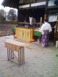 1年ぶりの上賀茂神社